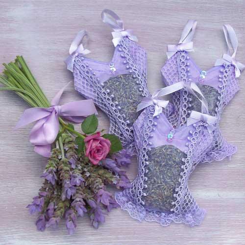marturii de nunta cu lavanda